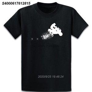 Atv Dirt Trail T Shirt Basic Graphic Печатается шаблон O шеи Семья Летняя рубашка хлопка 2511269