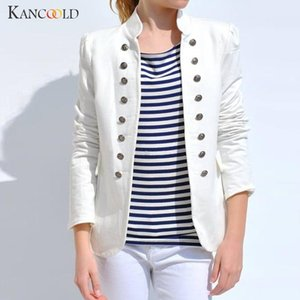 KANCOOLD coats Women Winter Warm Vintage Tailcoat Jacket Overcoat Outwear Uniform Buttons new woman coats and jackets 2019JUL29 T190912