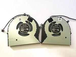 Nuevo ventilador original de la CPU del ordenador portátil para ASUS FX63V FX63VM FZ63VM FX63VM7300 FX63VM7700 DFS602212M00T DFS552012M00T