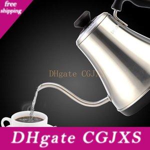 Aço inoxidável 1000w elétrica Gooseneck bico Chaleira Auto Power -Off Calor Proteção Preservação Drip Tea Elétrica Coffee Pot T190619