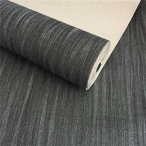 WELLYU High-end pure black wallpaper Thick waterproof deep embossed wallpaper Bedroom living room papel de pared 5D