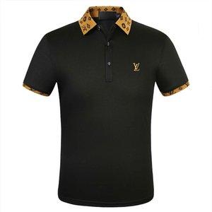 2020 neues Polo Shirts Männer Luxus-Polo-beiläufige Männer Polo-T-Shirt Snake Bee Letter Print Stickerei Mode High Street Designer-T-Shirt