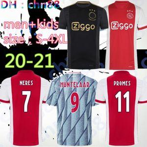 formato: S-4XL 3XL 2020 2021 Ajax rosso bianco del pullover di calcio 20 21 Ajax via camicia di calcio 2019 # 10 # 34 TADIC NOURI # 25 Dolberg football