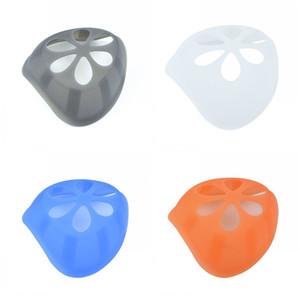 De silicona máscara máscaras desechables Máscaras del soporte Soportes Mascarilla interior Soporte anti lápiz labial de respiración suavemente 2 4yt D2