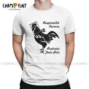 T-shirt dos homens Responsável proprietários Femdom vintage camiseta pica gaiola Male Chastity Bdsm Slave sexy do jogo camisetas Crewneck roupa