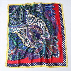 Дизайнер шелковый шарф Женщины 2020 Новая мода печати шали высокого качества шарфы Foulard Бандана Подарок для девушки
