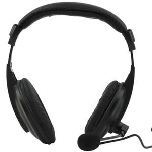 Nova Wired Gaming Headphone Negócios Baixo estéreo de 3,5 mm fone de ouvido com microfone para pc computador portátil Reunião Promoção