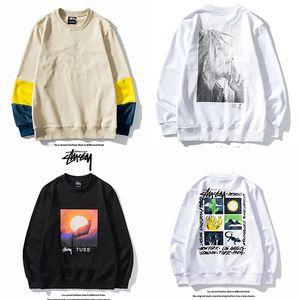 2020 Marken-Männer Frauen-Pullover Stüssy Classic Long Sleeve Sweatshirt Designer Hoodie Mode Top-Herbst-Frühlings Luxusmode Pullover