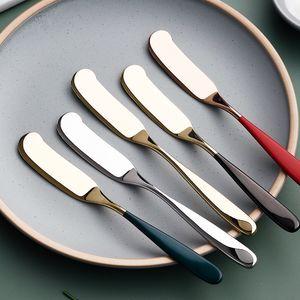 Stainless Steel Cheese Dessert Jam Spreaders Butter Knife Westen Cutlery Breakfast Tool Tableware Kitchen Restaurant Supplies