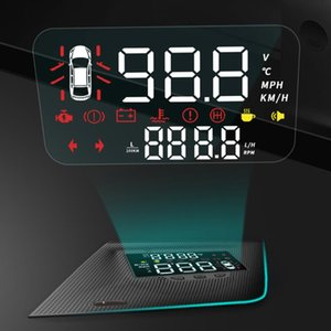HUD Car Head Up Display Windshield Screen Projector Security Alarm Overspeed RPM Voltage Warning For ES XZ10 2020-2020