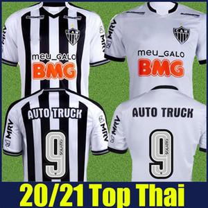 20/21 Brasileiro Atlético Mineiro futbol forması siyah beyaz çizgili gömlek ELIAS PATRIC CHARA juani forma camisa de CAM 2020