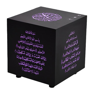 Беспроводная связь Bluetooth Speaker Коран Cube Speaker Press Цвет Коран Спикеры Воспроизведение музыки с мигалками