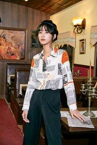 Diseño 2020 Calzoncillos Coat Kong Hong verano de las mujeres xlUuk ins nuevo estilo de vestir exteriores del diseño 2020 shirtCoat calzoncillos camisa nueva s tNc3T de Mujeres