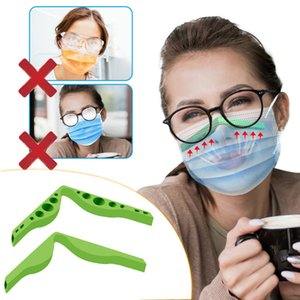 Anti Fog Silicone Nose Bridge Pads Nose Bridges Flexible Design Protection Strip Accessory Prevent Eyeglasses Fogging DIY Face Mask OWE1816