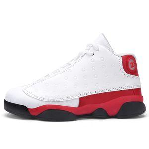 2020 Çocuk Basketbol Ayakkabı Koşu Ayakkabıları Yüksek Üst Sneakers Çocuk Tasarımcı Eğitmenler Erkek Su Geçirmez Kaymaz Aşınma Nefes