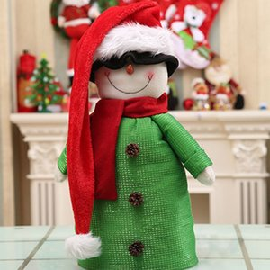 Christmas Santa Claus Hat Super Long Novelty Xmas Ornaments Holiday Party Decoration for Children and Adults D08D