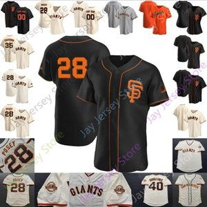 San Francisco Jersey Will Clark Mays Barry Bonds Buster Posey Cinturón Brandon Crawford Evan Longoria Alex Dickerson Hunter Pence Gabe Kapler