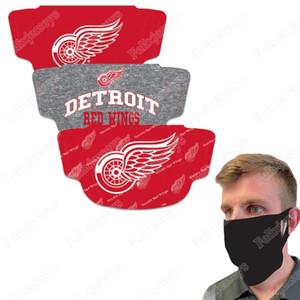 Detroit Red Wings WinCraft adulte couvrant le visage 3-Pack poussière Wind UV Sun Neck Gaiter Tube Couvre-chef Moto Vélo Équitation Courir Headba