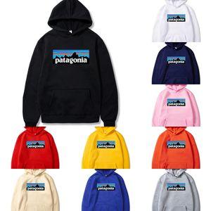 etHBQ 파타고니아 파타고니아 후드 2019 남성 패션 풀오버 대형 겨울 스웨터 옷을 입고 몇웨어 플러스 벨벳 MOUN 스웨터