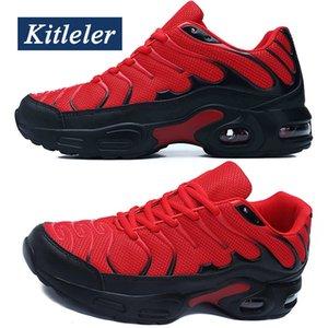 New Air Cushion Sneakers Sommer-beiläufige Männer Breathable-Trainer-Schuhe KITLELER Tenis Masculino Adulto Schoenen Männer