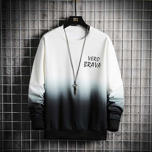 2020SS Men Women Harajuku Stitching Hoodies Teenagers Wear Hoodies with a Round Neck