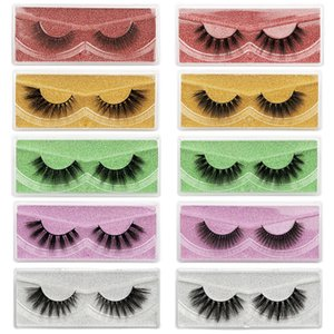10 styles a set Eyelashes Wholesale Lashes Natural Thick Fake Eyelashes Makeup False Lashes Extension Bulk