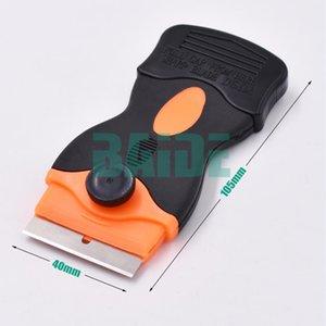 Cgjxs Mobiltelefon-Schirm entfernen Kleber Messer Kunststoffklinge Disassemble Sauber Schaber Polier Schaufel Oca Kleber UV-Kleber Schabmesser 100pc