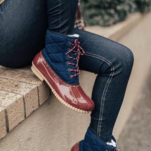 Vogue Winter-wasserdichte Mädchen Boots Ski Cloth Warmer Schnee Stiefel Kinder Jungen, Vlies-Kind-Schuh-Mädchen-Mutter-Tochter