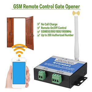 RTU5024 GSM Gate Opener Relay Switch Wireless Remote Control Door Access Door Opener Free Call 850 900 1800 1900MHz