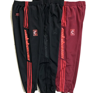 Kanye Saison 6 Pantalons CALABASAS Stripe sport Pantalons Street Homme WomenDrawstring Casual Fashio jogging Saison 4 Trois Bars Pantalons