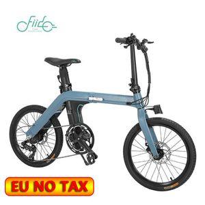 Magazzino in UE! FIIDO D11 bici elettrica 100 km ciclismo urbano pieghevole Ebike Shifting Pneumatici Versione 20inch 250W Motor Max 25 chilometri all'ora