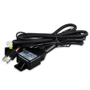 Оптовая HID ксеноновые фары h4 спрятанный реле Жгут привет / низкий ксенон h4 реле комплект ксеноновые лампы кабель