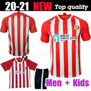 Nuevo superior de Tailandia 20 21 SUNDERLAND jersey rojo de fútbol en casa MAGUIRE 2020 camisetas de fútbol 2021 POTENCIA Watmore MCNULTY McGeady Grigg leadbitter