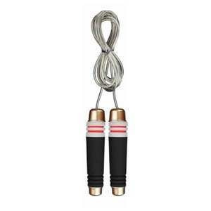 Anti Slip Speed Fitness Equipment Steel Wire Ball Bearing Weighted Training Skipping Jump Rope Free Competition Gym