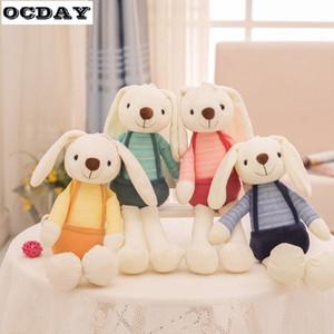 OCDAY peluche sveglia animali di peluche animali molli bambini bambino Giocattoli coniglio per ragazze bambini regalo di compleanno Sleeping Doll