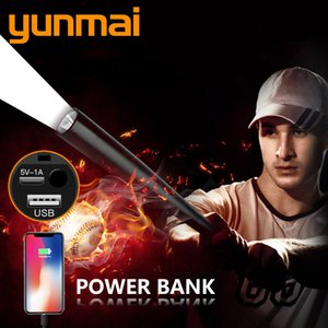 Powerbank Built In Battery Bulbs Rechargable Led Torch Resistant,power Bank,hard Light,self Defense