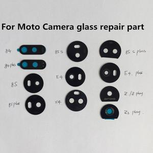 Cgjxs10pcs Back Rear For Motorola Moto E4 G4 G5 G5s G6 G7 Play Plus Power X4 Camera Glass Lens Circle Cover With Adhensive