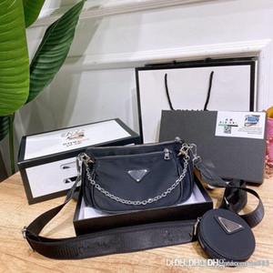 디자이너 3 종 세트 캔버스 핸드백 지갑 여성 핸드백 크로스 바디의 숄더 토트 브랜드 패션 가방 메신저 가방 여자