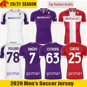 20 21 Maillots de Football Fiorentina RIBERY 2020 2021 ACF Fiorentina CHIESA VLAHOVIC CUTRONE Maillot de Football PULGAR Maglie CASTROVILLI Jersey