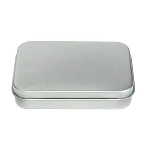 Tin Metal Storage Box Case Organizer For Money Coin Candy Keys USB Flash Disk Cards Box Case Organizer For Money