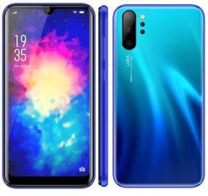 Smartphone p30 note10 h10 h20 Telefone 3D Android 8.1 MTK6580A Quad-Core-Handy Dual Sim zeigen 4gb RAM 64GB ROM 3800mAh Gefälschte 4G LTE DHL