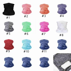 Turban Masks Magic Scarf Multifunctional Bandanas Breathable Face Adult Headband Supplies Fitness Sports Riding Cycling Masks CYZ2651 Wxokc