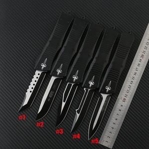 5 Stil Micro Tech Combat Troodon Messer Bowie / Hellhound Tanto / Speerpunkt D2 Stahlklinge Taktische Messer Utx85-Messer
