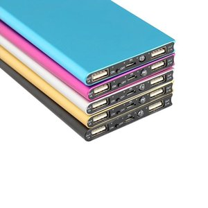 Super Slim Banca di potere 12000mAh Ultra assottigli Polymer Powerbank potenza della batteria del -Bank 20000 mAh per il telefono mobile caricabatteria portatile
