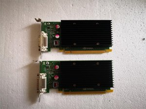 90% New NVS300 X16 BV456AA 625630-001 632827-001 garantia Placa gráfica por 1 ano 50pcs saída DMS59pin / BOX