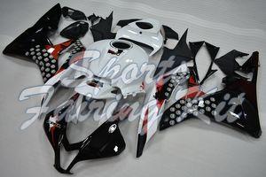 Carenagem para Honda CBR600RR 2007-2008 Red Fairing Kits CBR600 RR 2008 Fairing CBR 600RR 08