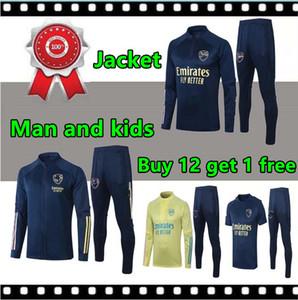 2020 2021 Arsen homens e crianças Futebol Fatos Sportswear 20 21 uniforme de treinamento Polo maillot de camisa de treino de futebol