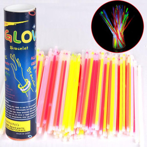 LED Glow Stick Safe Light Stick Luminous Toy Necklace Bracelets Fluorescent Event Festive Party Supplies Concert Wedding Kids Game