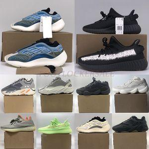 Adidas Yeezy 700 Boost 500 YeezyBoost 350 v2 Sply Scarpe da corsa Scarpe nere bianche  Kanye West Scarpe di lusso Donna maschili Scarpe sportive per uomo