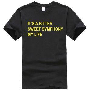 Richard Ashcroft-T-Shirt Es ist ein Bitter Sweet Symphony My Life Songtext The Verve